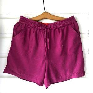 Boden Magenta Comfy Shorts